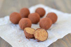 tartufi di pandoro con cacao