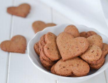 biscotti integrali senza burro sfornati