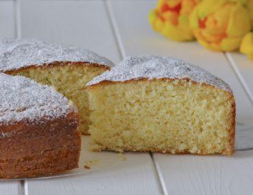torta cioccolato bianco e cocco con zucchero