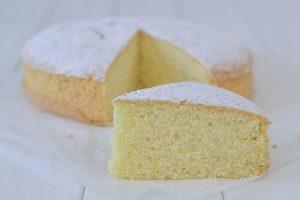 torta con farina di riso soffice