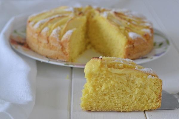 Torta Farina Riso Senza Uova.Torta Di Mele Con Farina Di Riso