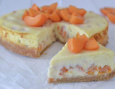 cheesecake ricotta e albicocche