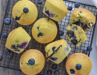 muffin ai mirtilli soffici