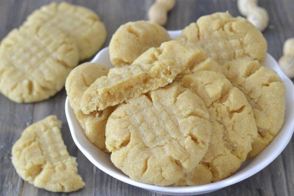 biscotti al burro di arachidi morbidi