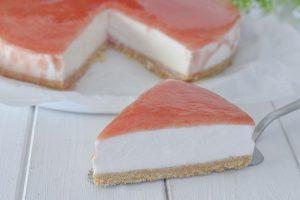 cheesecake all'anguria
