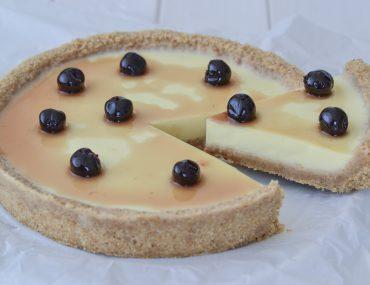 cheesecake con panna cotta