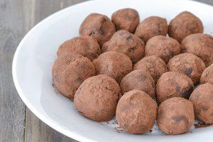 tartufi al cacao e ricotta