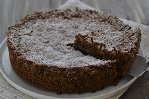 torta di pane sfornata