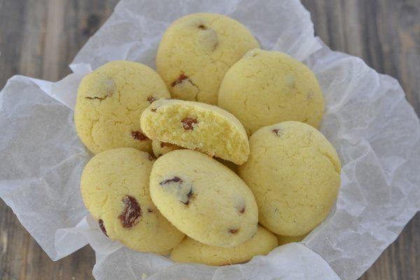biscotti all'uvetta