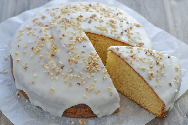 torta miele e mandorle