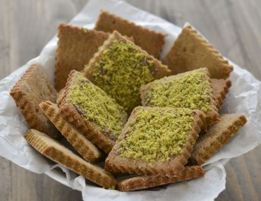 biscotti integrali al pistacchio con granella senza burro
