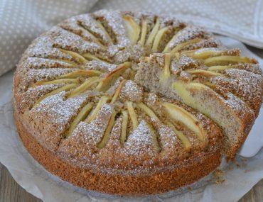 torta di mele al grano saraceno morbida