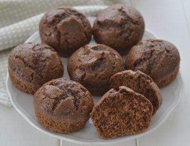 muffin al cacao e zucchine morbidi