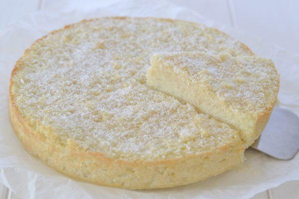 torta di riso al cocco