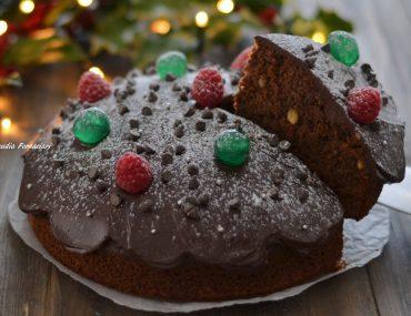 torta di natale al cacao