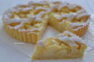 crostata di pere con limone e zenzero