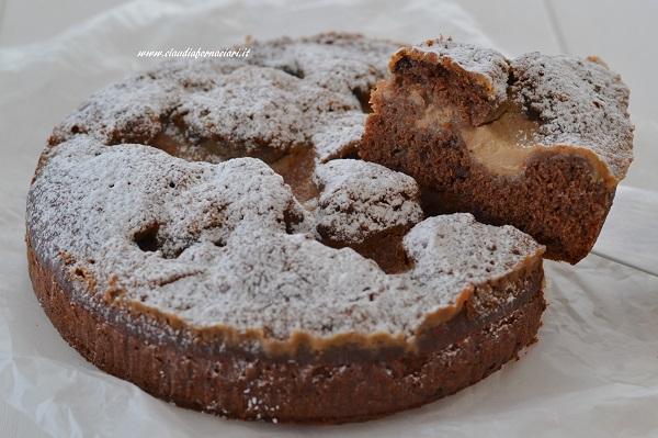 torta al cacao con crema al caffè e mascarpone
